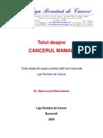 148794985 Totul Despre Cancerul Mamar de Dr Stanculeanu