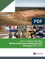 Waste Resource Management Strategy 2014-2019