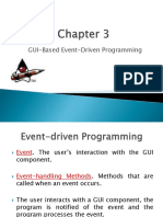 GUI-Based Event Driven Programming