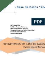Zoologico-Base de Datos