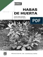 HABAS DE HUERTA