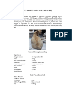 Feline Infectious Peritonitis