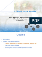 Elastic Optical Network