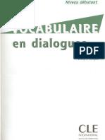 Vocabulaire en Dialogues Debutant