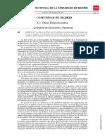 Regulacion Procedimientos Ley de Presupuestos
