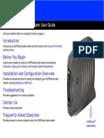 Panduan Pelanggan FastNet Cable Modem Motorola SB5101