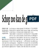 Goedkeuring verhuizing dierentuin