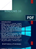 Presentation on windows 10