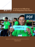 Bangsamoro Year-End Report 2015