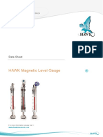 E-hawk Magnetic Level Gauge Data Sheet