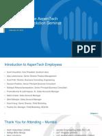 01 AspenTech Company Overview Arup