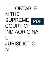 Reportablein thefgf Supreme Court of Indiaoriginal Jurisdiction