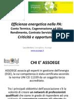 Presentazione EfficienzaEnergeticaNelle PA Bertoni
