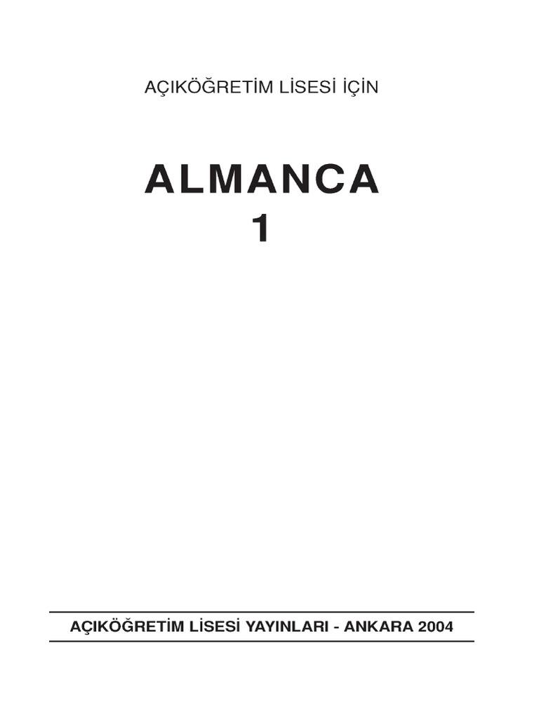 Almanca 1