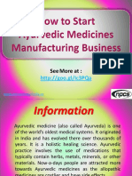 How to Start Ayurvedic Medicines Manufacturing Business.pdf