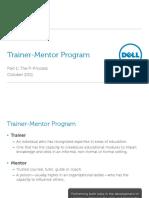 Trainer Mentor - Part 1