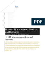 Lte Questions