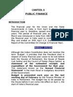 CHAPTER 6 Public Finance (2)
