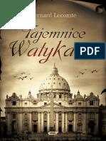 Bernard Lecomte - Tajemnice Watykanu