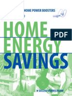 Home energy saving