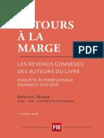 Les revenus connexes des auteurs du livre