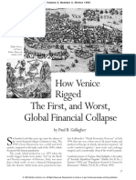 How Venice Rigged the First, And Worst, Global Financial Collapse
