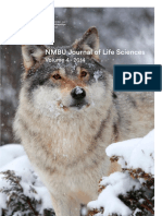 Nmbu Student Journal 2014 Web Med Online Issn 1 POl Ecology of Reindeer