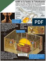 Buscan a Nefertiti en la tumba de Tutankamón