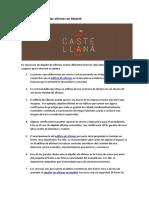 10 claves para alquilar oficinas en Madrid