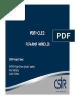 Pothole Chap4 Repair