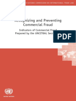 Recognizing and Preventing Commercial Fraud