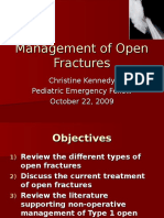 2009 10 22-Kennedy-Management of Open Fractures (1)