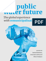 11 Our Public Water Future Global Experience Remunicipalisation April2015 FINAL