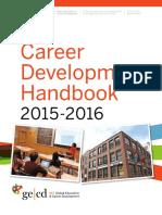 Career development handbook 2015-2016