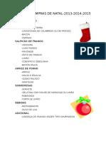 Lista de Natal