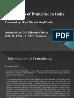 India Retail Franchising