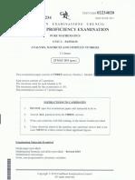 CAPE Pure Math Unit 2 Paper 2 (2011)