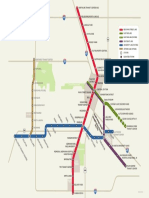 Rail System Map Plan