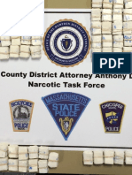 3400 Bags of Heroin Seized by Hampden District Attorney Gulluni's Narcotics Taskforce