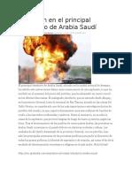 Explosión de oleoductos en El Mundo debido a corrosion interna  y por corrsion por fatiga