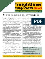 Freightliner Newsletter No:2