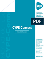 CYPE-Connect - Manual Del Usuario