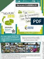 Informe de Gestión Director SENA Regional Quindío 2015
