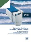 Weiss Salt Spray and Corrosion Testing Brochure
