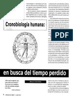 Golombek Diego - Cronobiologia Humana en Busca Del Tiempo Perdido