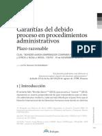 Garantía Del Debido Proceso Administrativo