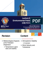 A report on environmental pollution control