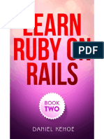 Learn Rails 2