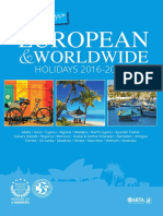 Mercury Holidays Worldwide 2017 Brochure