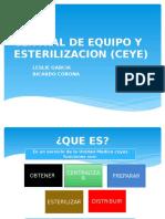 Central de Equipo y Esterilizacion.